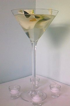 Arum Martini Glass