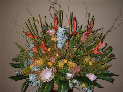 Large Protea Foyer